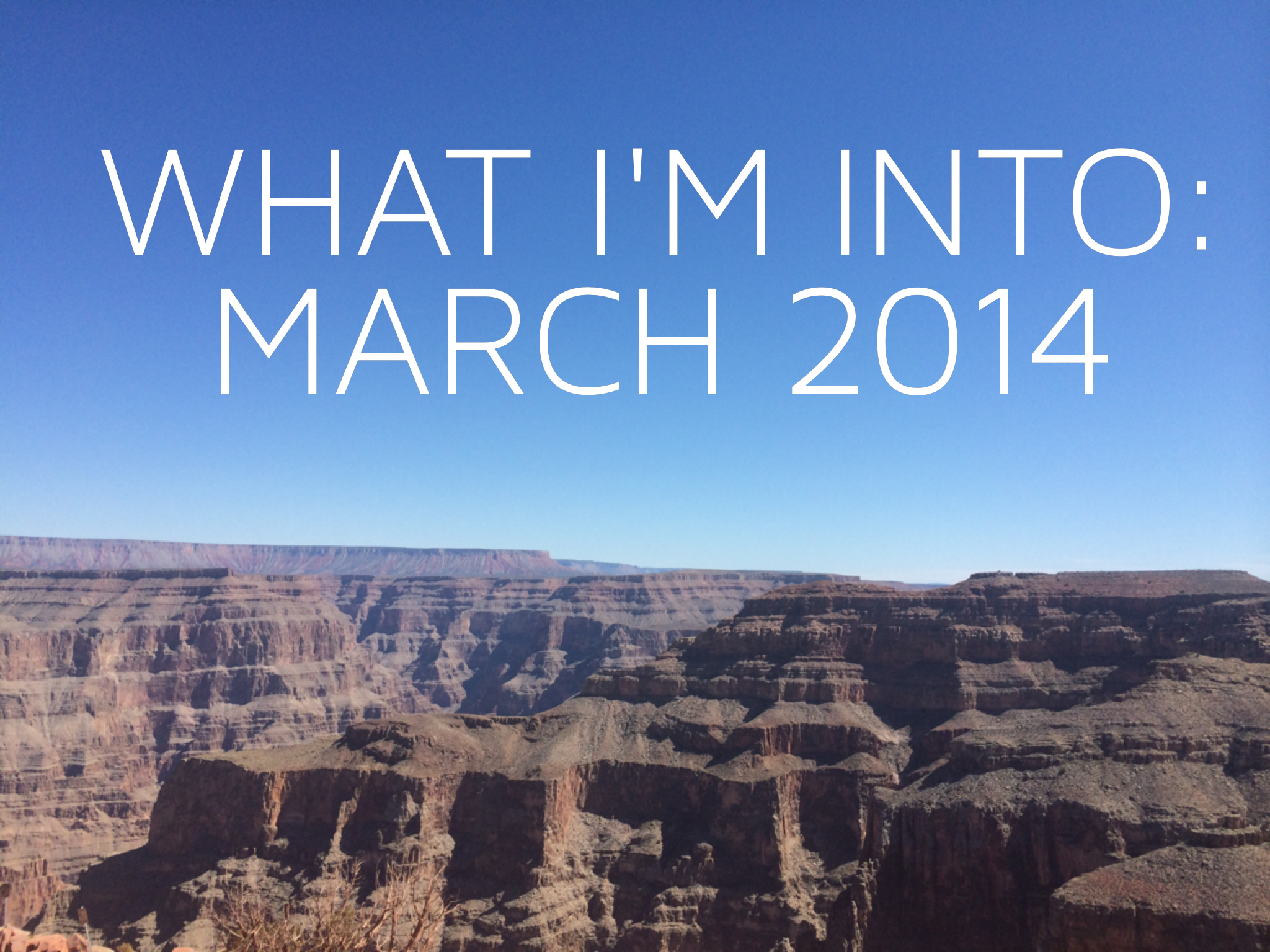 What I M Into March 2014 Andra Kee