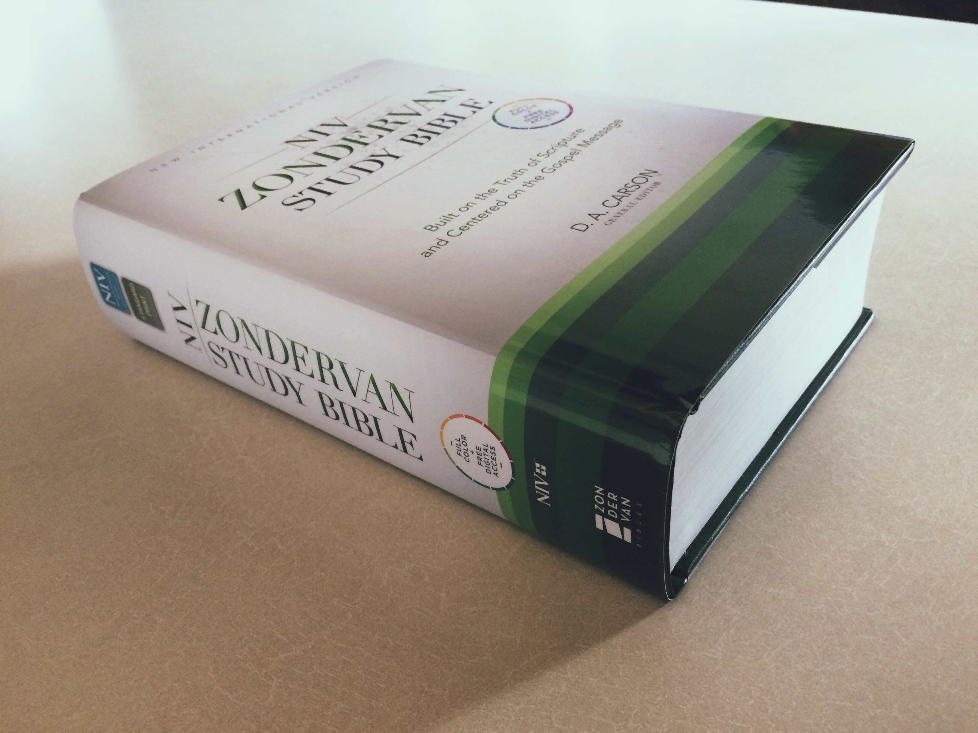 Bible Review: The NIV Zondervan Study Bible | Andra Kee